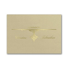 Perfect Union - Reception Card